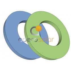 Junta NBR verde o azul